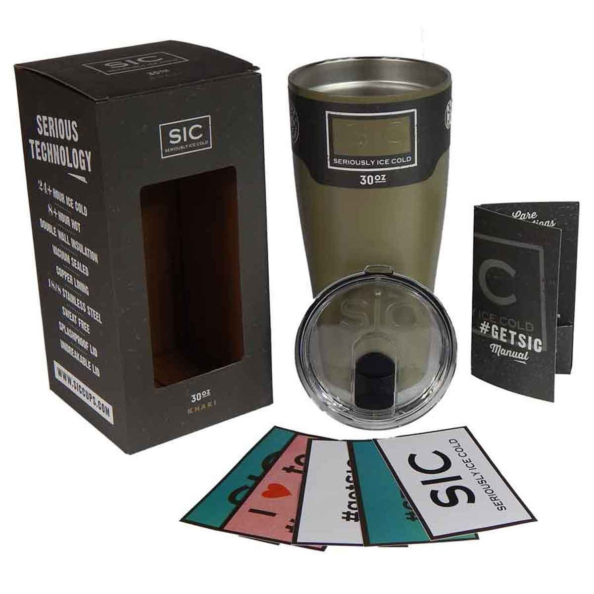SIC 30 oz Cup Khaki
