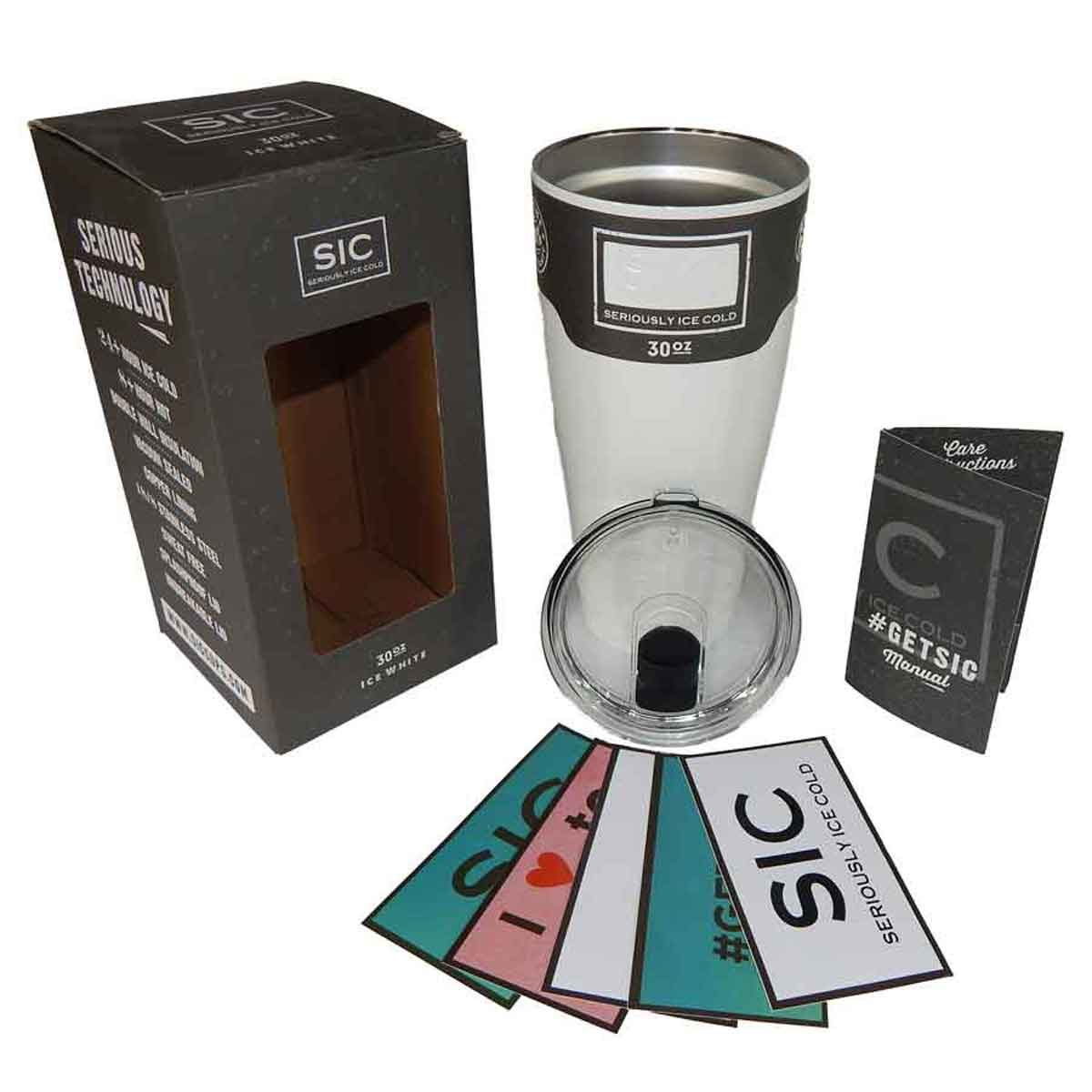 SIC 30 oz Cup white