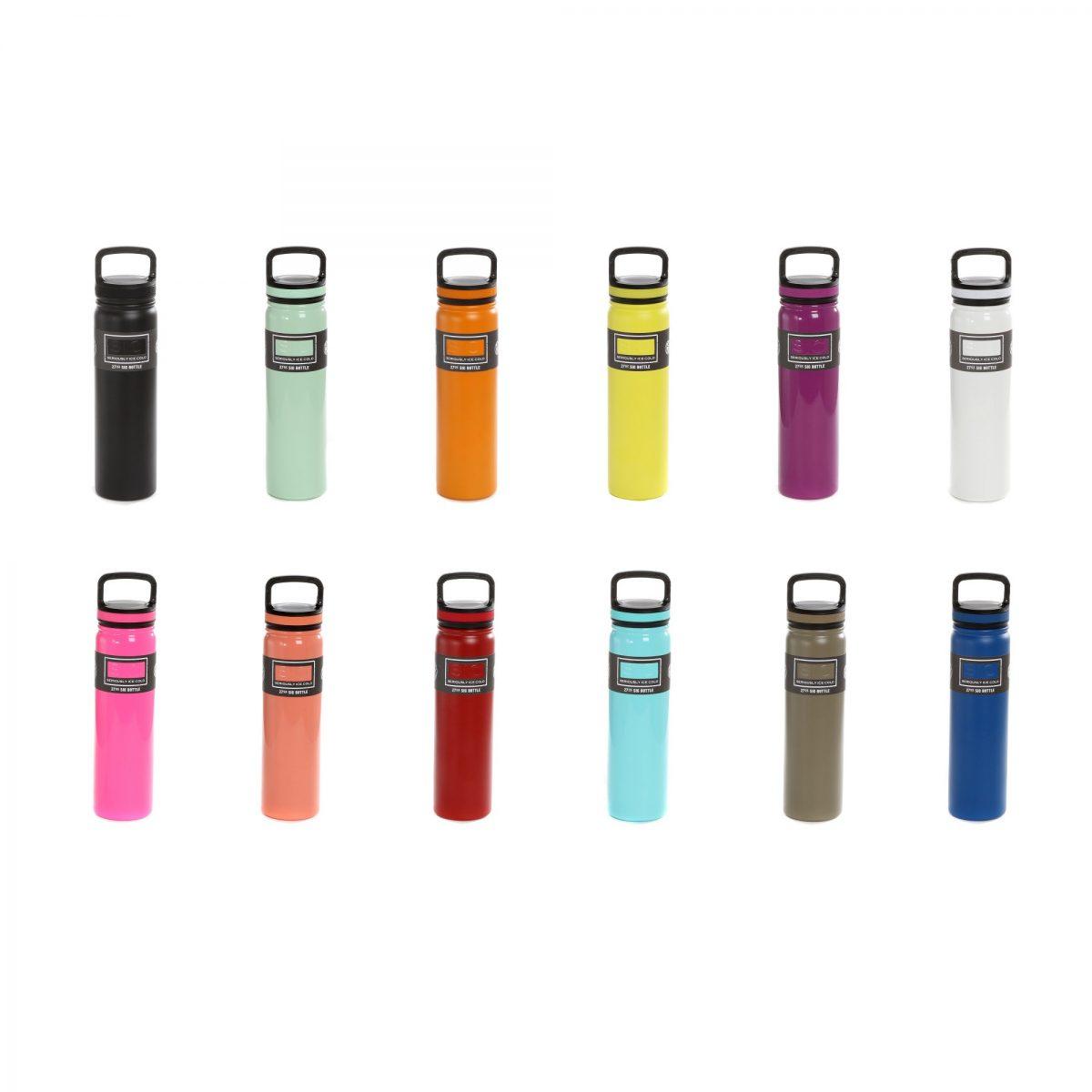SIC Bottle Colors