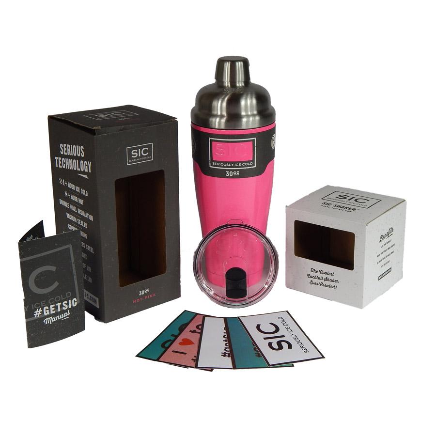 SIC 30 oz Shaker Pink