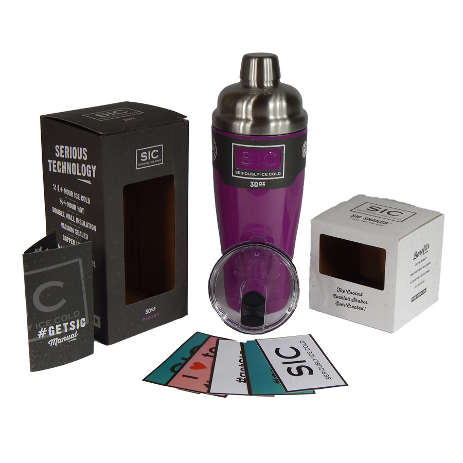 SIC 30 oz Shaker Violet