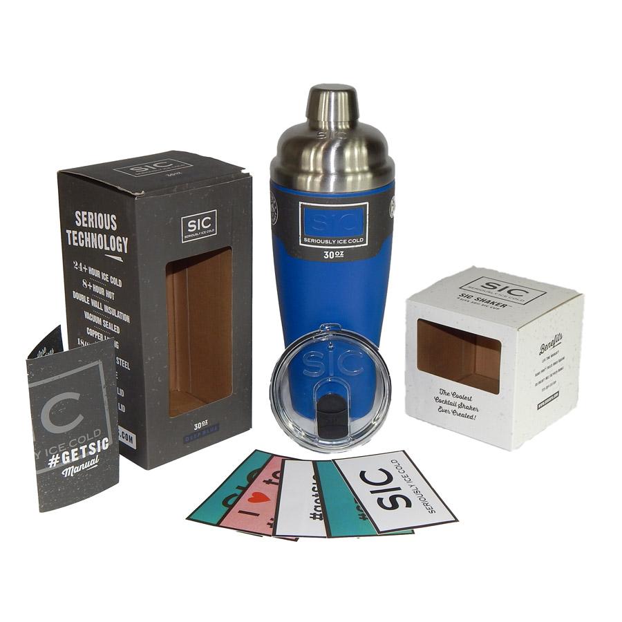30 oz Shaker Blue SIC