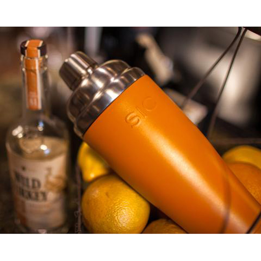 SIC orange cocktail shaker
