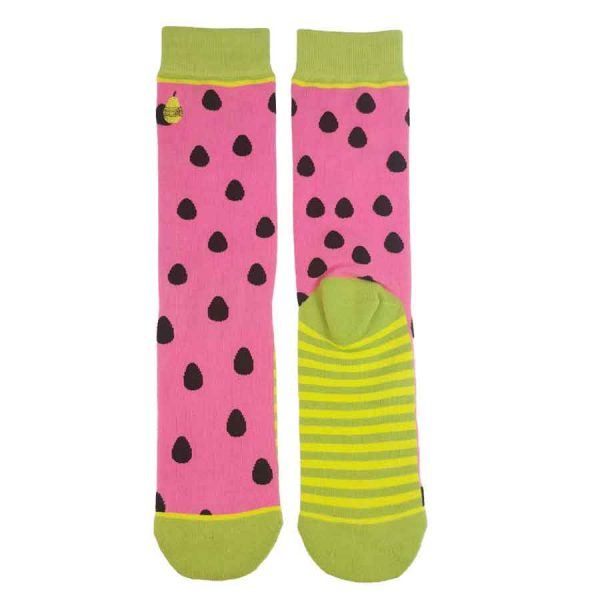 Watermelon Babies socks WOVEN PEAR