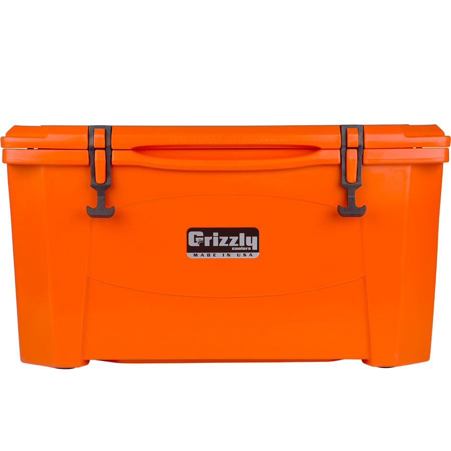 Grizzly 60 Cooler orange