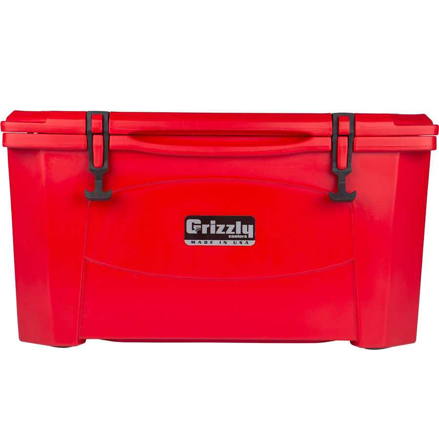Grizzly 60 Cooler red
