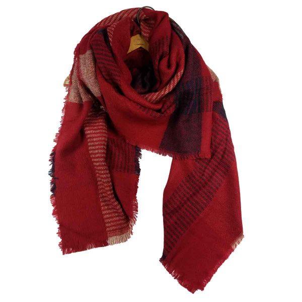 winter berry scarf