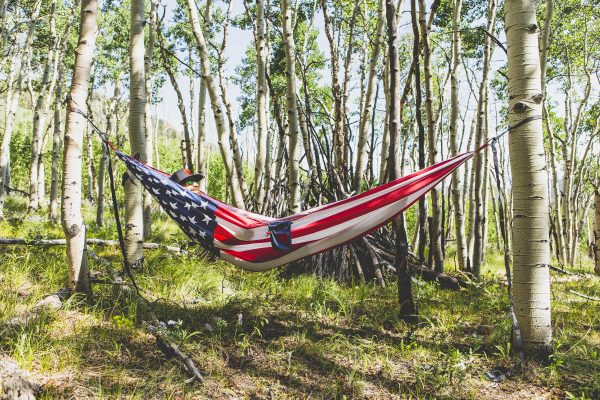 GT Double Hammock USA Flag