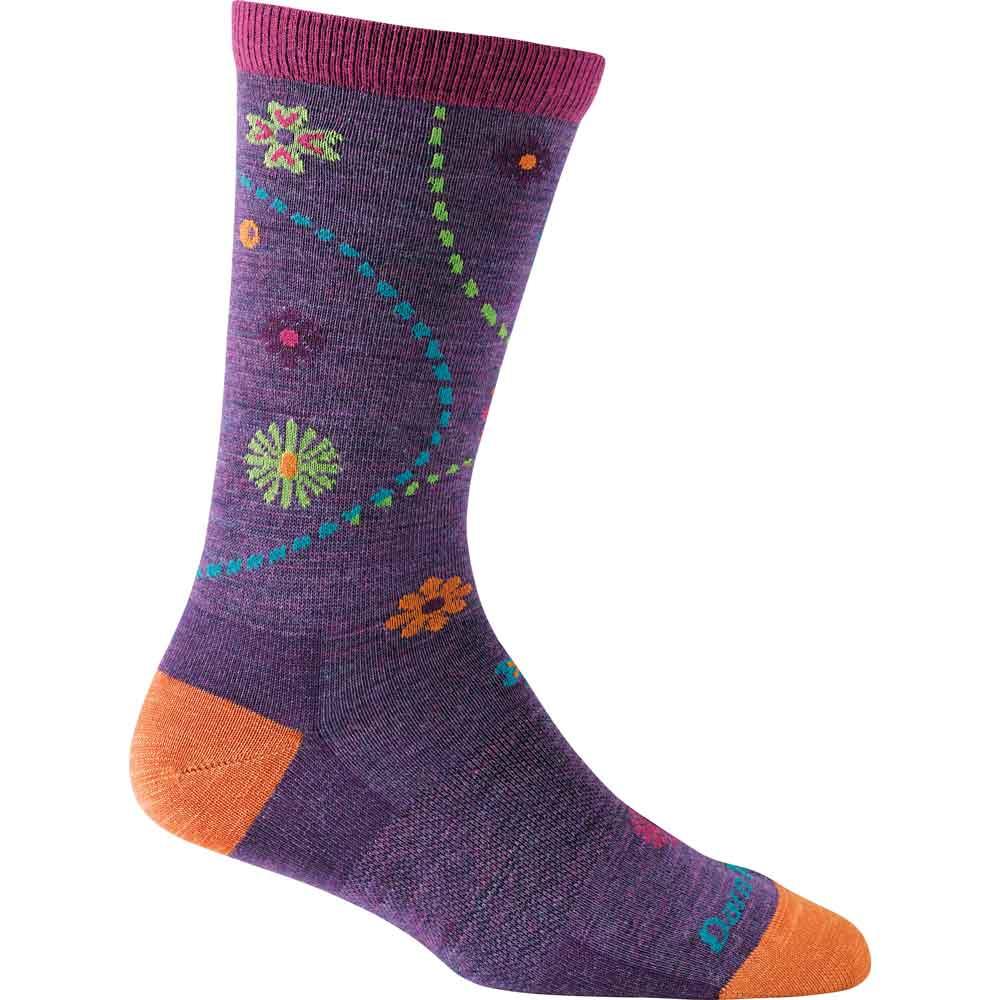Garden Crew (plum) sock