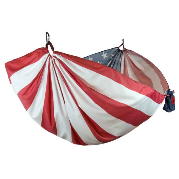 GT Double Hammock Tree USA Flag