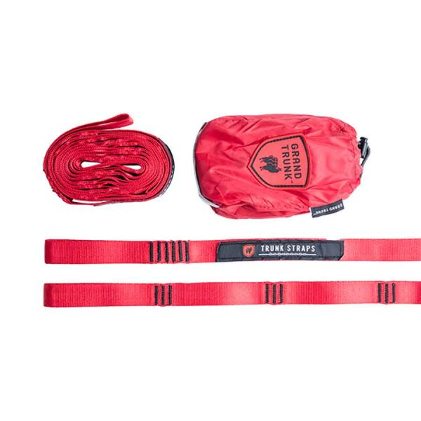 GT Hammock Tree Straps red