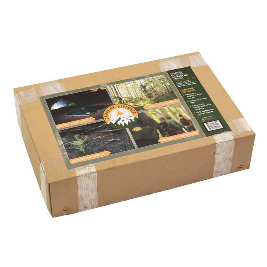 Campfire Defender fire flame cover box