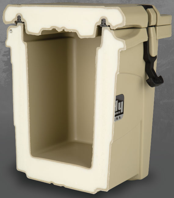 Grizzly insulation parts Cooler