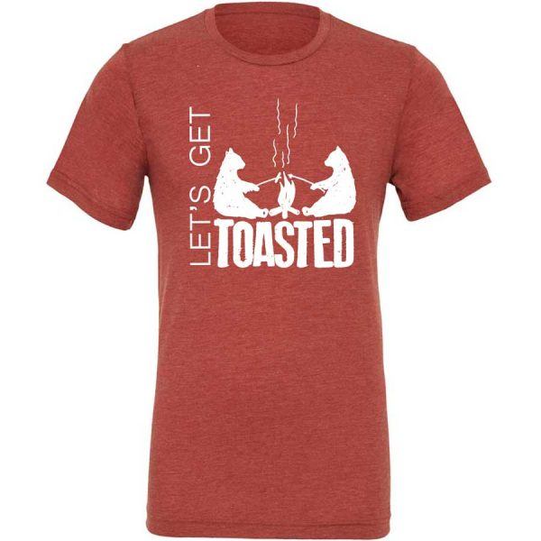Let's Get Toasted, t-shirts