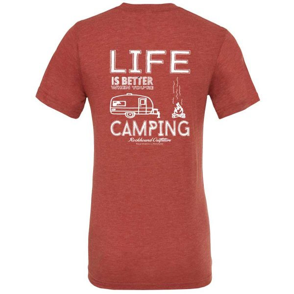 Life Is Better Camping, t-shirts
