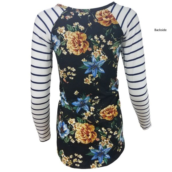 Floral, Stripe, flowers