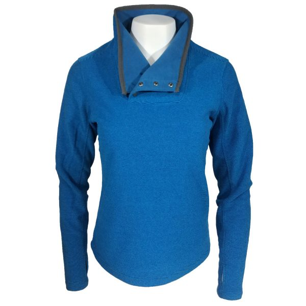 White Sierra Blacktail SnapFleece Pullover Blue