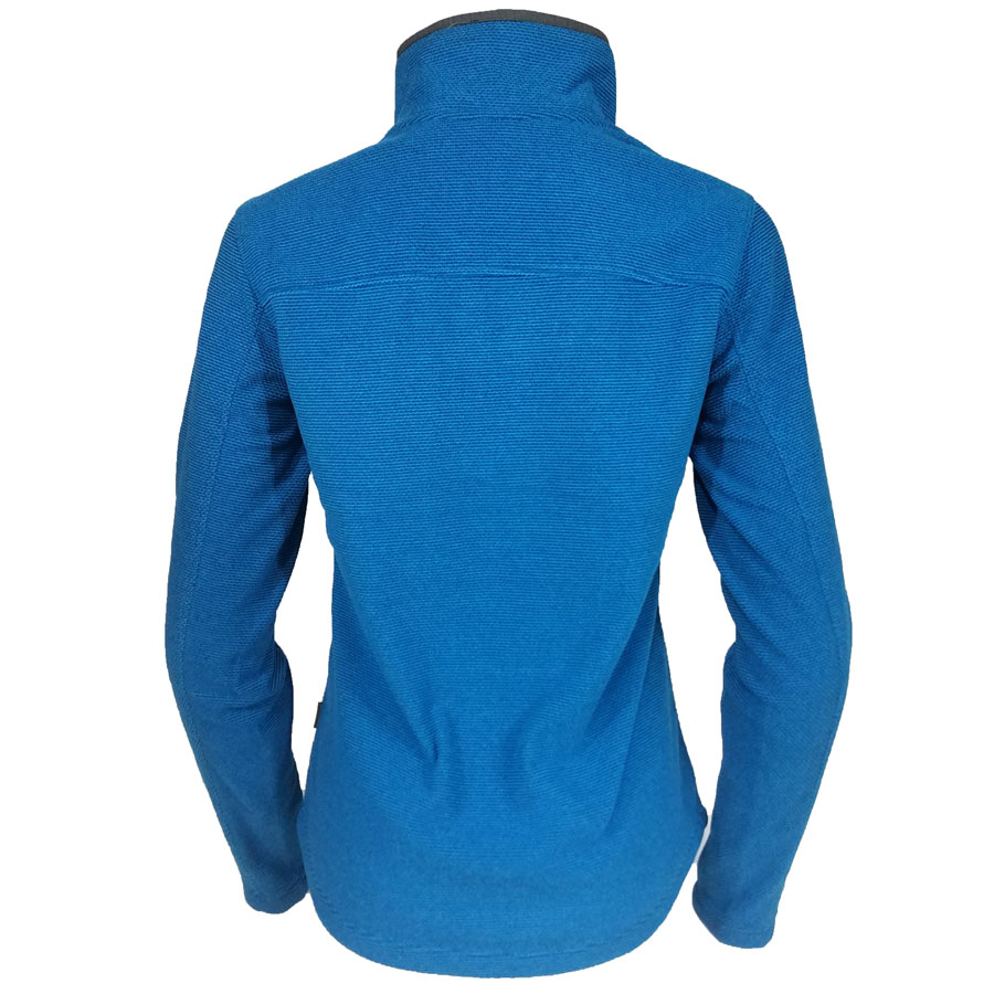 White, Sierra, Blacktail, Snap, Fleece, Pullover, Blue, womens