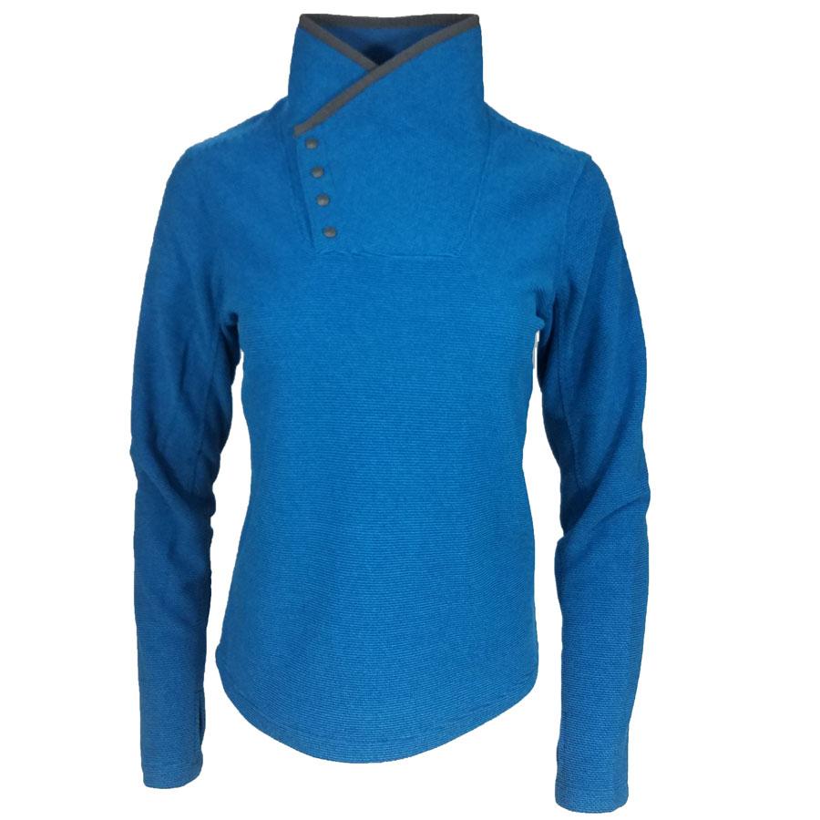 White Sierra Blacktail SnapFleece Pullover Blue