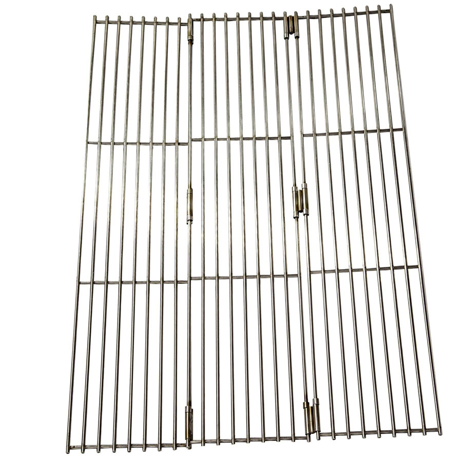 fire pit, large grill grate, stainless steel