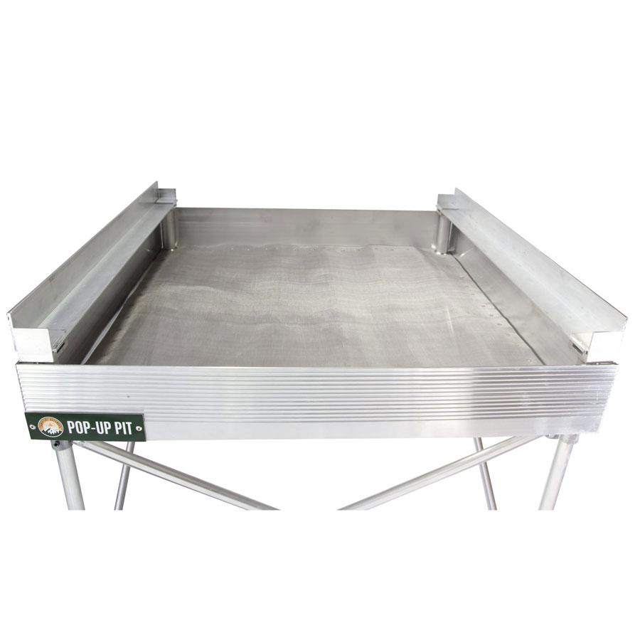 fire pit, portable, stainless steel