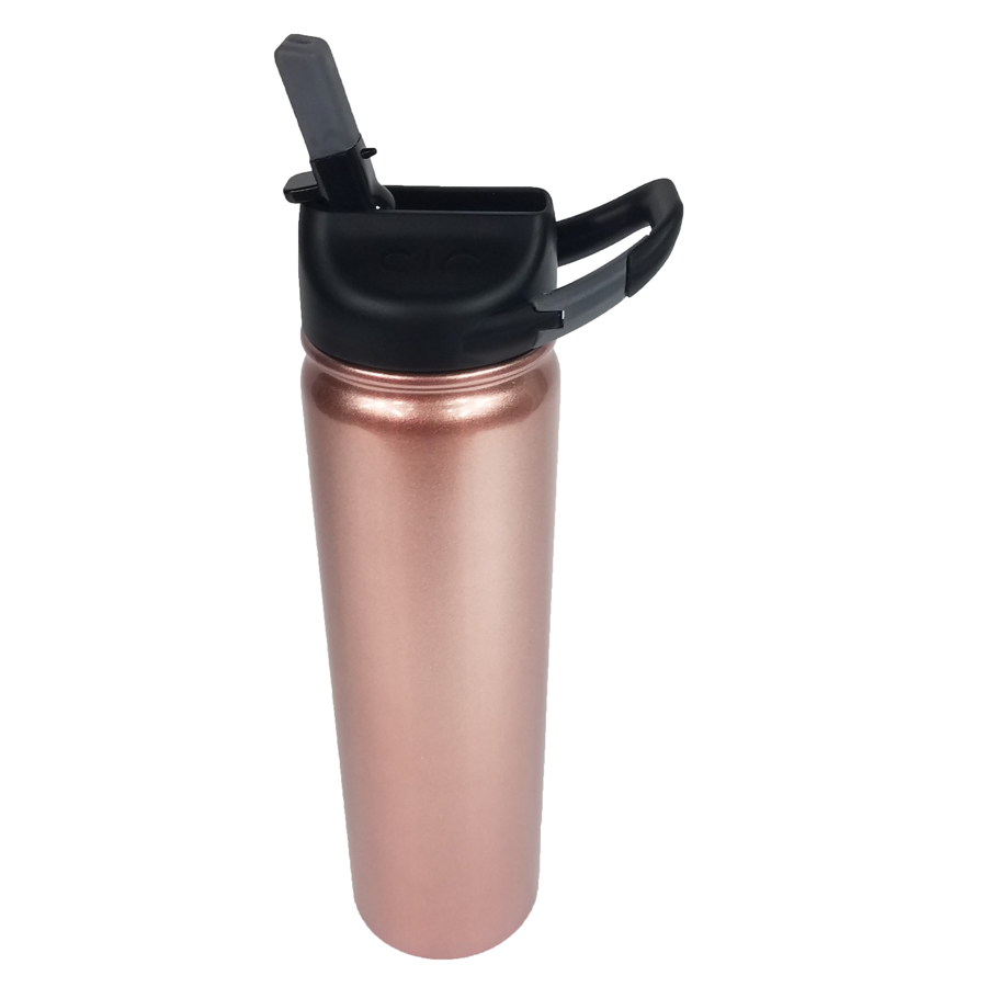 travel mug, straw, 27 oz.