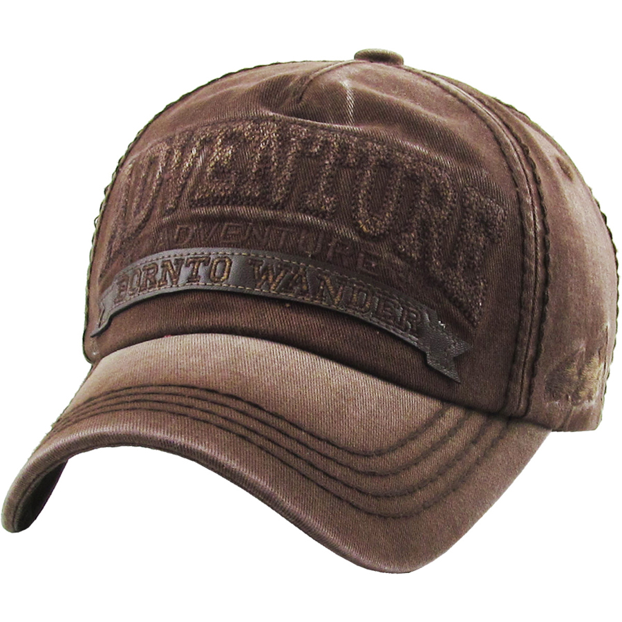 Adventure Born to Wander Hat  Rockhound Outfitters