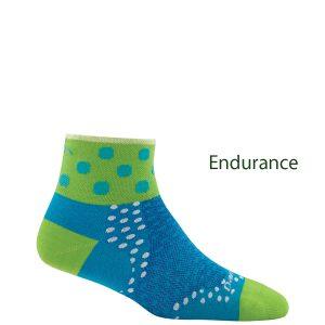 ankle, dot, sock