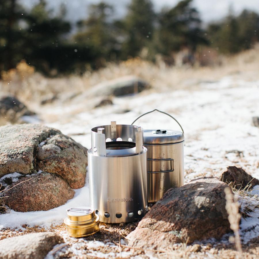 camp, cook, stove, hike,