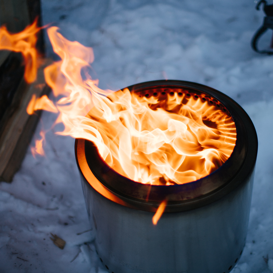 Camping Fire Pit >> Solo Fire Pit Ranger