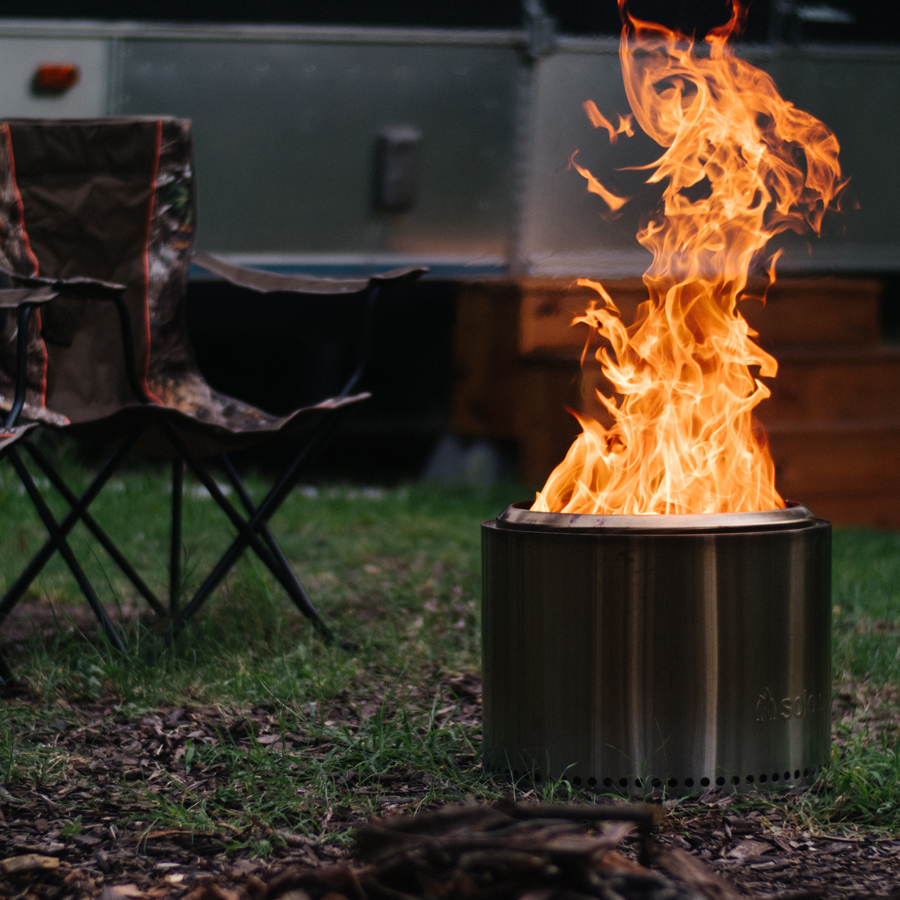 Solo Fire Pit Bonfire Less Smoke Rockhound Outfitters
