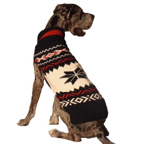 warm, dog, Chilly-Dog---Navy-Vail-Dog-Sweater
