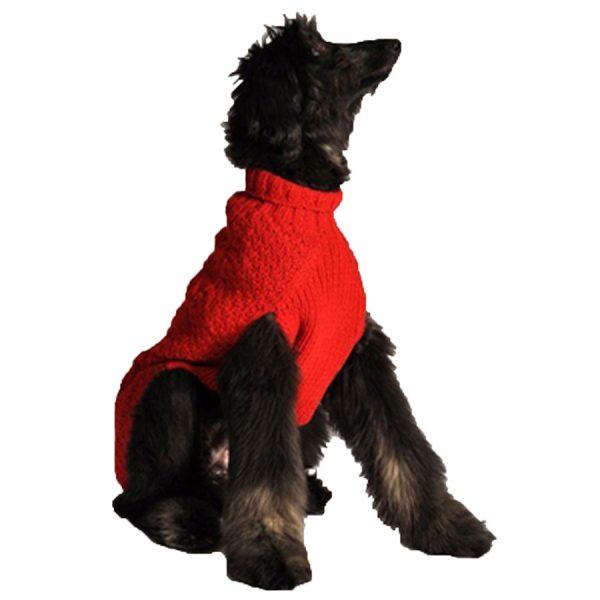 dog, handmade wool