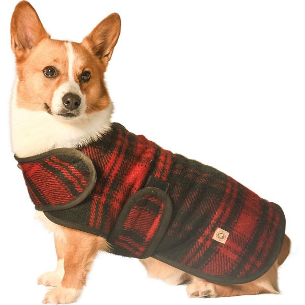 Chilly-Dog---Red-and-Black-Plaid-Blanket-Dog-Coat