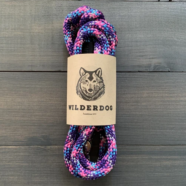 Made of climbing reflective rope with a easy swivel clip.