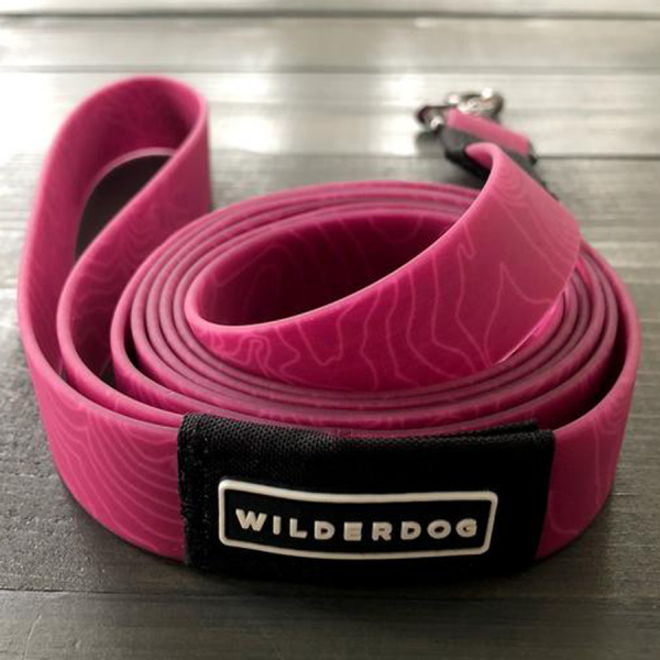 Made of rubber coated webbing mud and waterproof pink