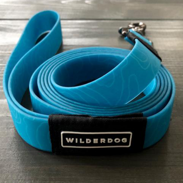 Made of rubber coated webbing mud and waterproof. blue