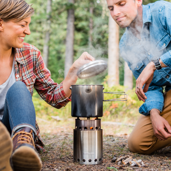 Stainless Steel camping cookware for camping, hiking any any other adventure