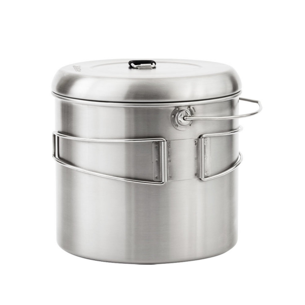 Stainless steel pot for cooking