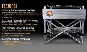 Fireside Outdoors - Trailblazer features