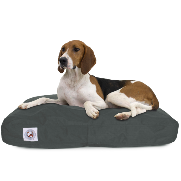 Dog on Brutus Tuff Napper tough dog bed