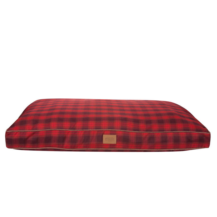 Red Ombre Plaid Napper front