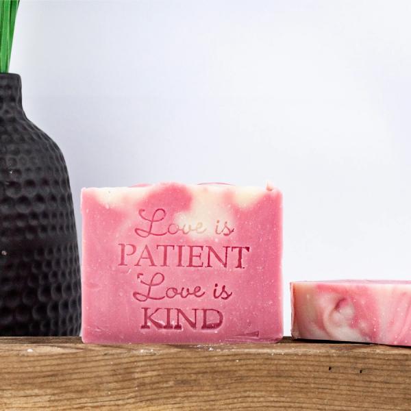 Pink Fire Lake soap