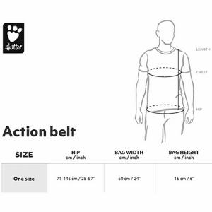 Hurtta-Action-Belt size chart