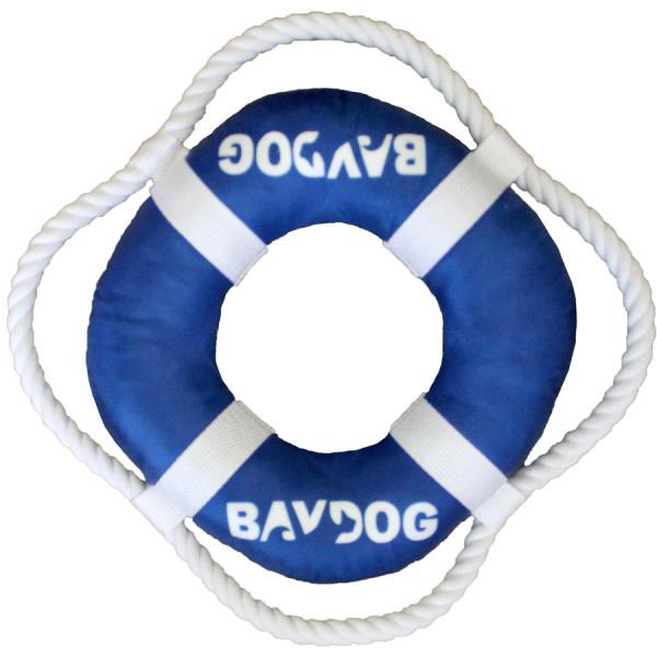 BayDog blue fetch ring