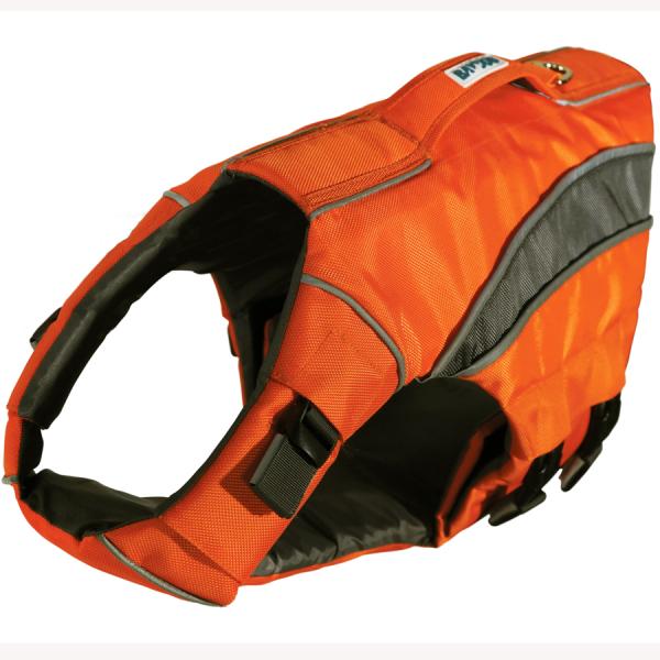 BayDog orange Montereybay life-jacket